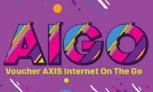 cara aktivasi voucher internet AIGO AXIS