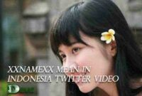 Xxnamexx Mean in Indonesia Twitter Video