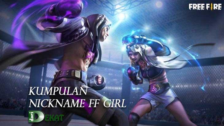 nickname ff girl