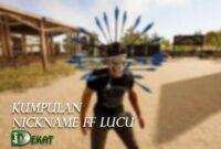 nickname ff lucu